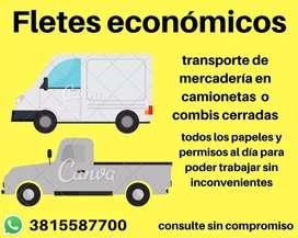 Servicio de transporte de mercadería máquinas de cualquier tipo