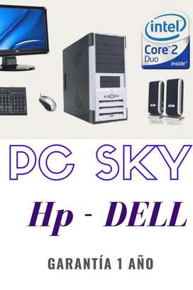 Super Oferta Pc Intel Core 2 Duo Hp Dell
