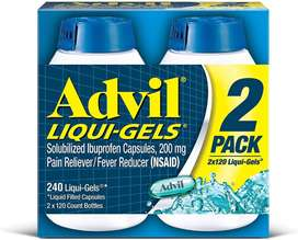 Cápsula Líquida Advil Liqui-gels Minis 200 Mg 2 Pack