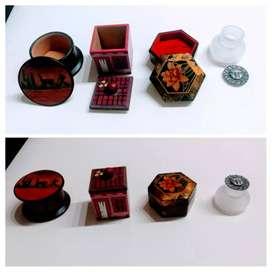 4 cajas pequeñas para decoración