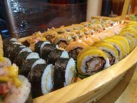 Buscamos auxiliar de sushi