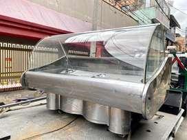 Nevera gondola moderna poco uso para carne o pollo