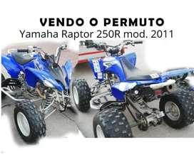 Vendo Yamaha Raptor 250r
