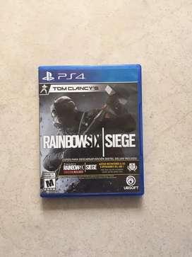 Rainbow six siege ps4                                        FIFA 18 $ 30.000