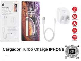 Cargador+ cable Para iPhone 5 6 7 8 Plus X Xr Xs