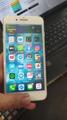 Vendo iphone 7 plus de 128g perfecto estado con garantia