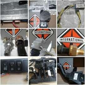 modulo de cabina y repuestos electricos  de camion international