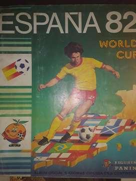 Album Futbol Panini España 1982 Lleno