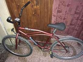 Bicicleta playera rod 24 usada