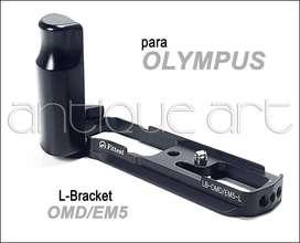 A64 Hand Grip Para Olympus Omd-em5 Fittest L Bracket