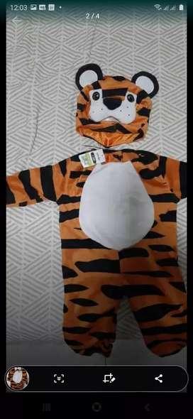 Disfraz nuevo tigre