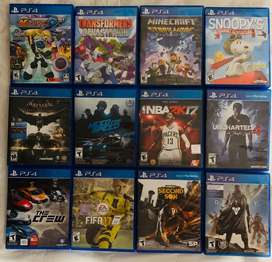 Vendo juegos ps4 play 4