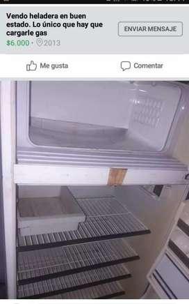 Vendo heladera en buen estado