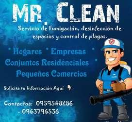 Servicio de desinfeccion y sanitizacion
