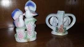 Palomas de cerámica
