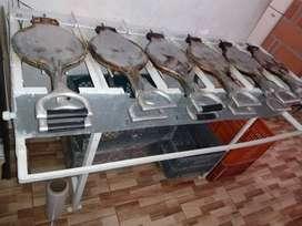 Maquina de conchas y cucuruchos, galleteria para helado
