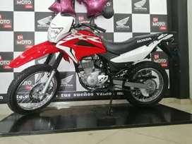 Estrena tu motocicleta Honda 2022 XR 150 solo con tu cédula   no es pulsar ns200 akt ktm yamaha suzuki kawasaki hero bmw