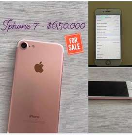 Iphone 7 -32gb,  Usado pero en perfectas condiciones!
