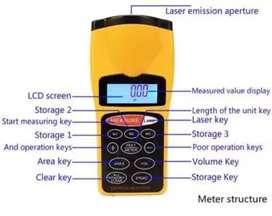 Medidor laser ultrasónico 50m
