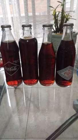 Botellas de Coca-Cola antiguas