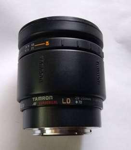 lente TAMRON LD aspherical PARA SONY MONTURA  A macro 28-200