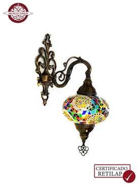 Lámpara turca de pared #3