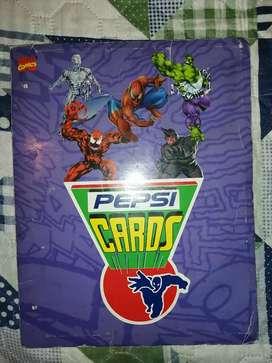 Album pepsi cards 1995