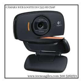 CAMARA WEB LOGITECH HD 8MP C525. Nuevo