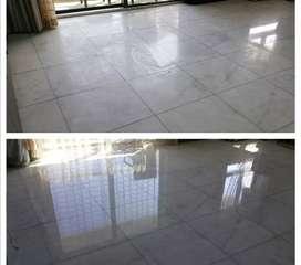 Pulida de pisos, brillada de pisos, mantenimiento de Pisos
