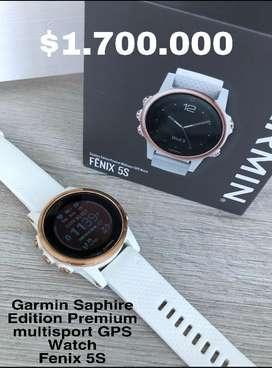 Reloj Garmin 5s Saphire Premium Edition en perfecto estado!