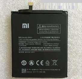 Bateria Original Xiaomi Redmi 3s 3x Note 3 5a 5x 4 4x