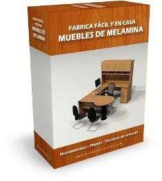 VIDEO CURSO Curso: Fabricación fácil y en casa de Muebles de Melamina ¡Inicia tu propio negocio hoy!