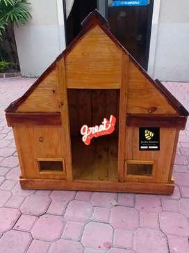 Vendo Fabrico Casa para Perros Grandes Pequeños