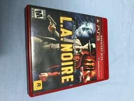 L.A. NOIRE...PS3 GAME
