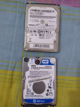 Disco duro para portátil, cantidad: 2