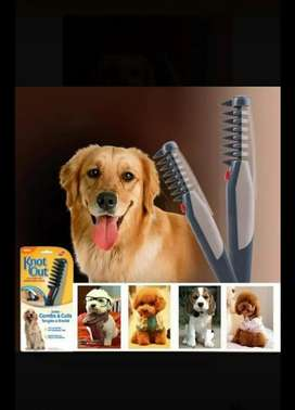 Cepillo eléctrico para mascotas