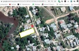 Vendo terreno 10 x 58 con Casa precaria monoambiente con baño