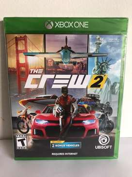 The crew 2 Xbox One Nuevo fisico y original