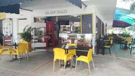 Vendo Hermoso café restaurante sitio estrategico