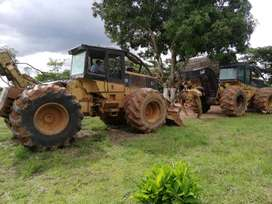 tractor forestal cat 525b