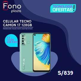 Celular Tecno Camon 17 6GB 128GB