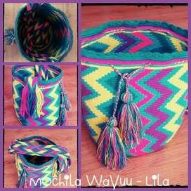Hermosas Mochilas Finas Wayuu Originales