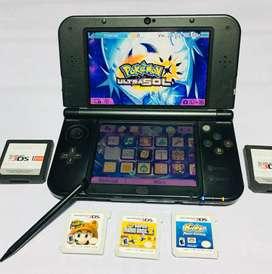 New Nintendo 3 DS xl -15 juegos-