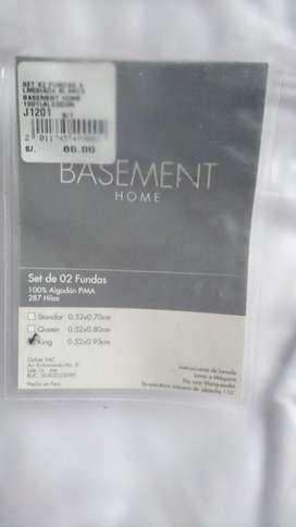 Set de 2 Fundas King Basement Home