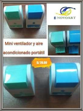 Mini Aire Acondicionador Y Aromatizador