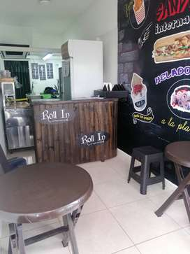 GANGA DE Venta de montaje de negocio para cafetería o restaurante
