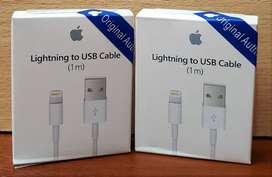 Combo Cable 1 mtr + cargador Original PATA ARTGENTINA  para iphone 7 7 plus 6 6s plus 8 8 x 10