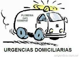 Urgencias en Plomeria Y Gas