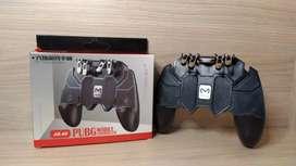 Gamepad con 4 gatillos (control para celular) para Call Of Duty, Free Fire, Pugb, marca MEMO (ak66)