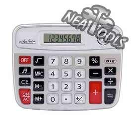 Calculadora de Escritorio 8 Dígitos Grande Electrónica Kk-9835